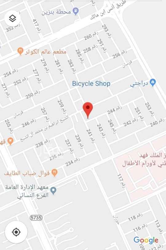 أرض للبيع في شارع منصور الحازمي ، الرياض