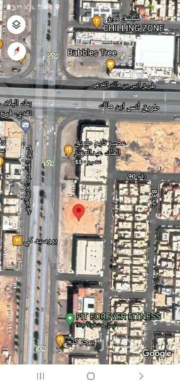 أرض للإيجار في حي الياسمين ، الرياض ، الرياض
