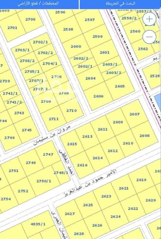 أرض للبيع في شارع المدار ، حي المحمدية ، الرياض