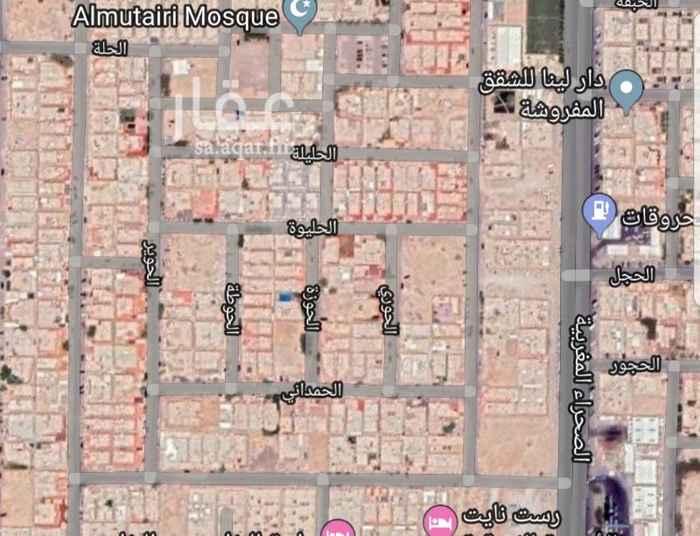 أرض للبيع في شارع الحفتة ، حي النفل ، الرياض
