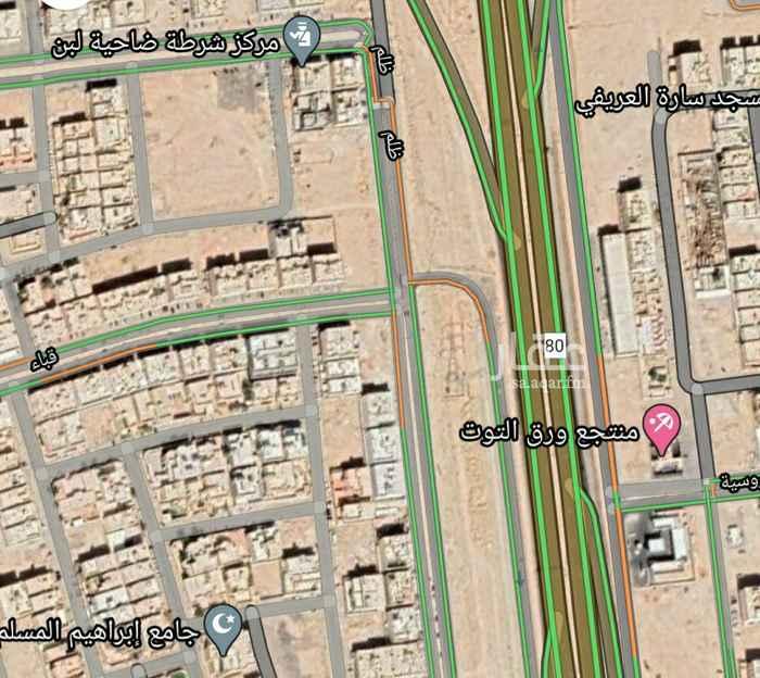 أرض للبيع في شارع قارية ، حي ظهرة لبن ، الرياض ، الرياض