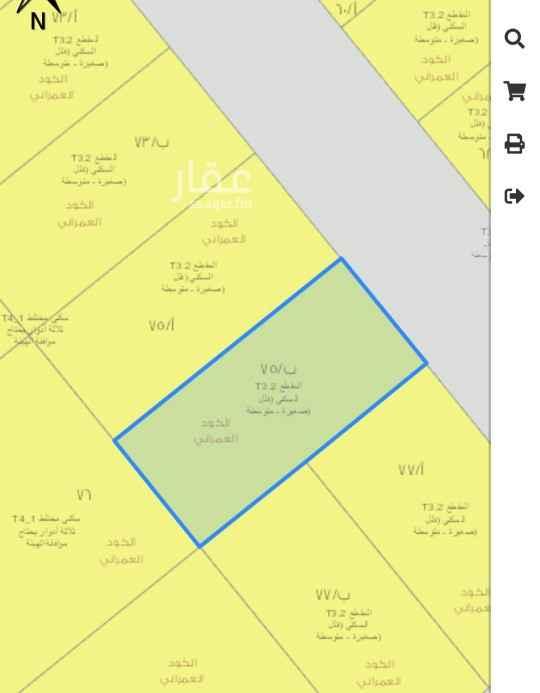 أرض للبيع في شارع راشد الخلاوي ، حي الخالدية - الدرعية ، الرياض ، الرياض