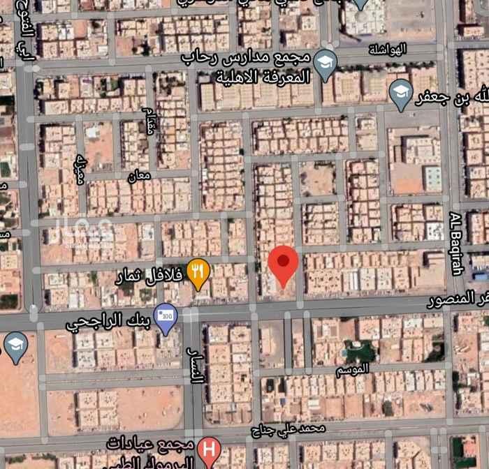 أرض للبيع في شارع ابي جعفر المنصور ، حي اليرموك ، الرياض ، الرياض