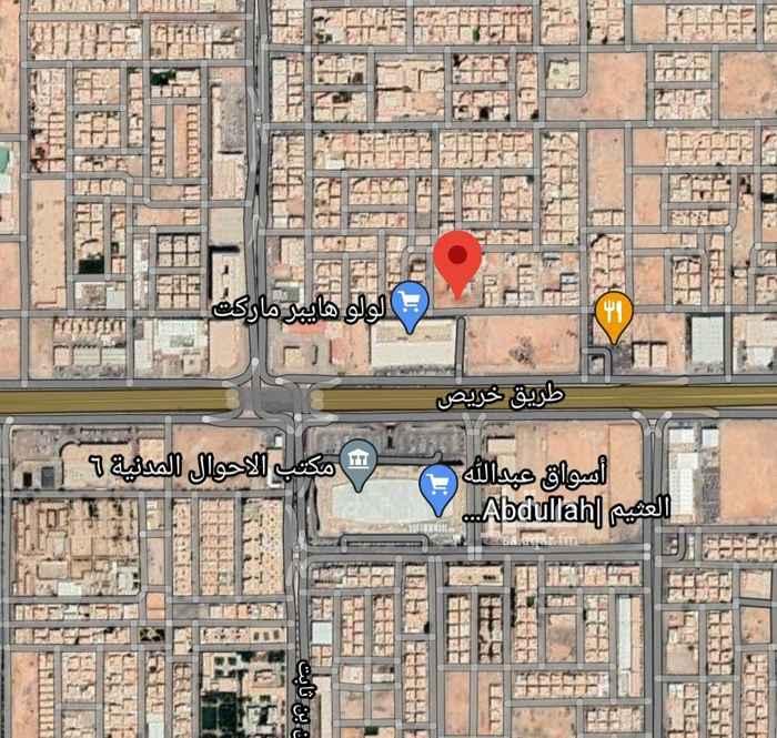 أرض للبيع في شارع ابن عمر القرشي ، حي النهضة ، الرياض