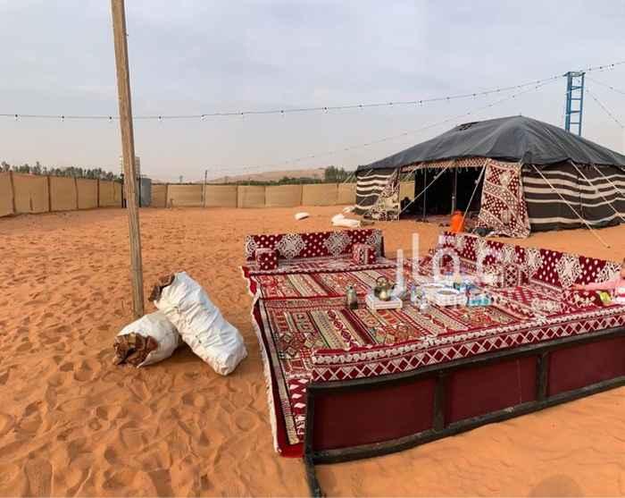مخيم للإيجار في طريق مكة المكرمة ، المزاحمية
