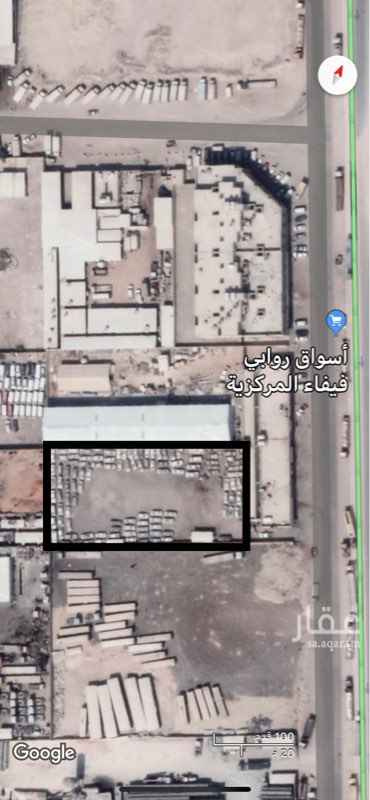 أرض للإيجار في طريق العزيزية ، حي المنصورية ، الرياض