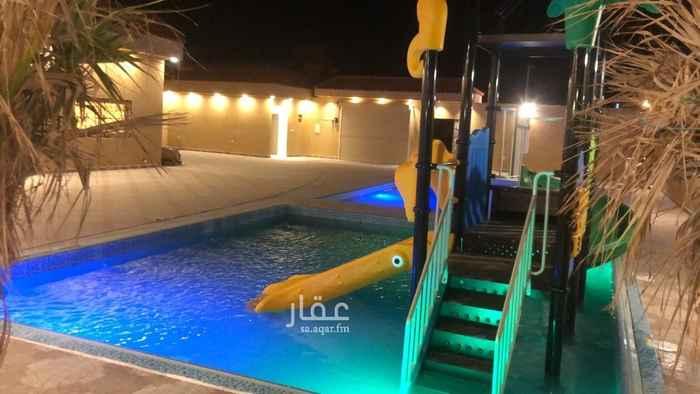 استراحة للبيع في الطريق الدائري الغربي الفرعي ، حي العريجاء الغربية ، الرياض ، الرياض