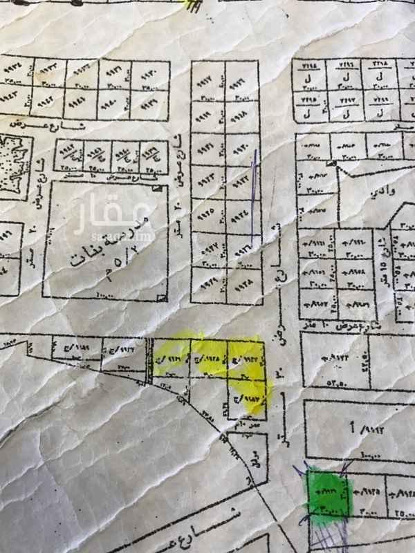 أرض للبيع في شارع القريتين, ظهرة لبن, الرياض