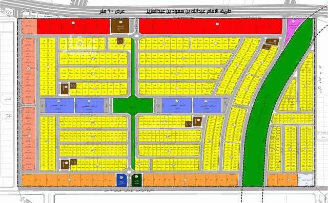 أرض للبيع في طريق الإمام عبدالله بن سعود بن عبدالعزيز ، حي القادسية ، الرياض