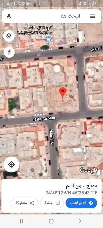 أرض للبيع في شارع نهر العوجا ، حي الصحافة ، الرياض