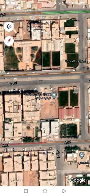 أرض للبيع في شارع الفنون ، حي النهضة ، الرياض ، الرياض