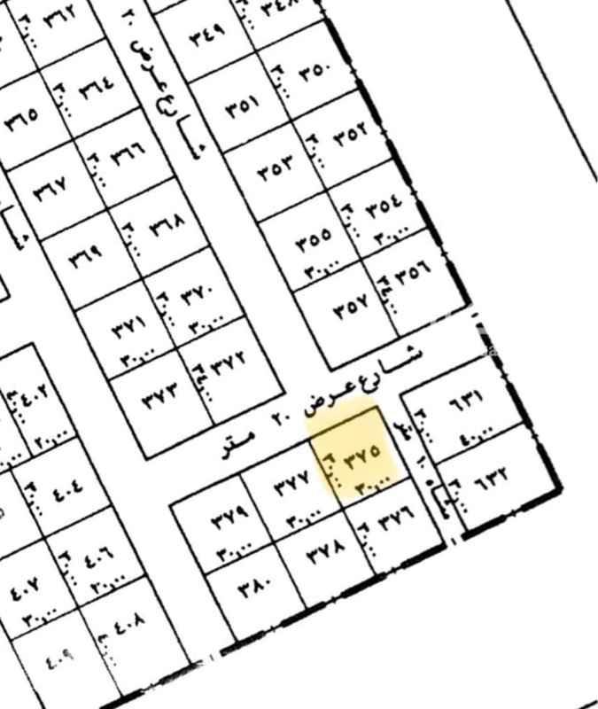 أرض للبيع في شارع عتود ، حي حطين ، الرياض ، الرياض