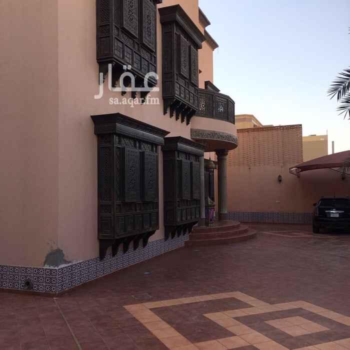 فيلا للبيع في شارع الرمال ، حي الحمراء ، الرياض