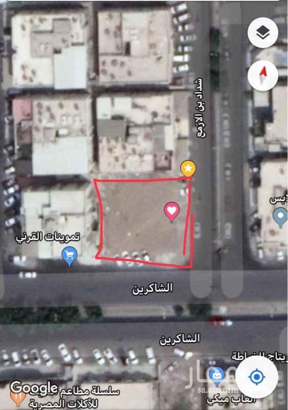 أرض للبيع في شارع شداد بن الازمع ، حي الصفا ، جدة