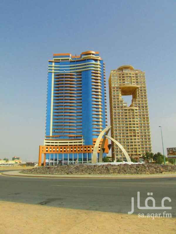 شقة للبيع في برج ديآر البحر ، طريق الكورنيش ، حي الشاطئ ، جدة