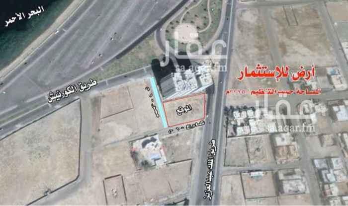 أرض للإيجار في طريق الملك عبدالعزيز ، حي ابحر الجنوبية ، جدة ، جدة