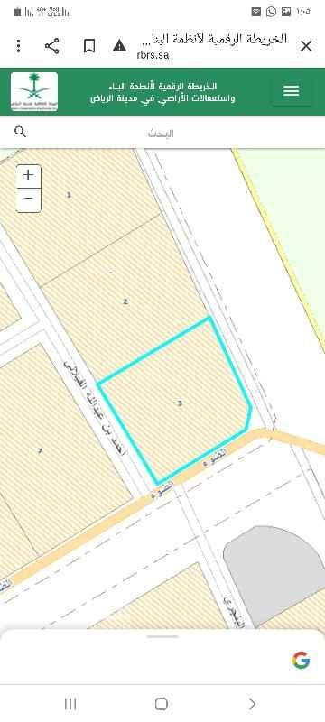 أرض للبيع في شارع الاعناب ، حي الرمال ، الرياض ، الرياض