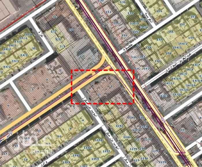 أرض للإيجار في شارع ايوب بن مكرز ، حي الملك فيصل ، الرياض ، الرياض
