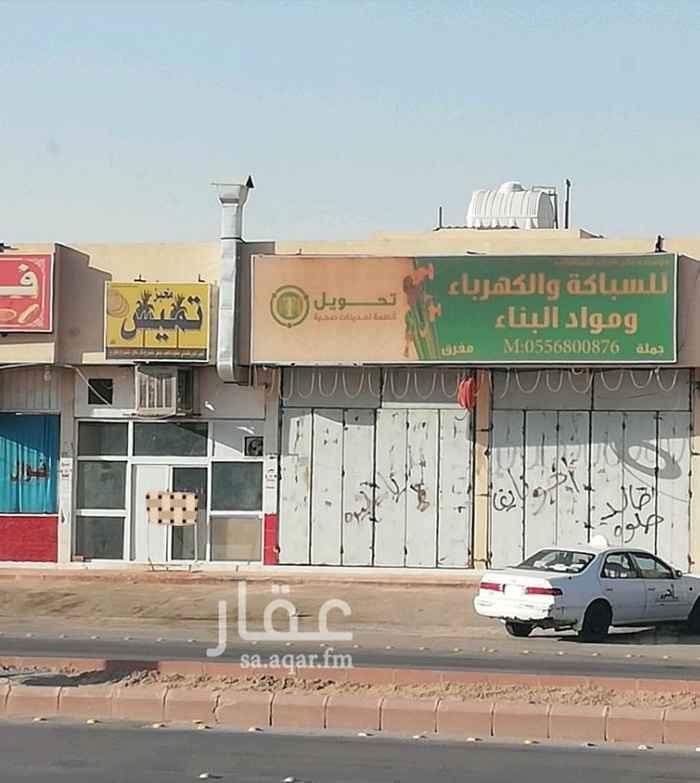 محل للإيجار في شارع احمد بن الخطاب ، الرياض