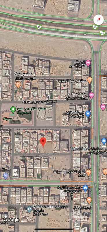 أرض للبيع في شارع الصلت بن النعمان ، حي طيبة ، الدمام ، الدمام
