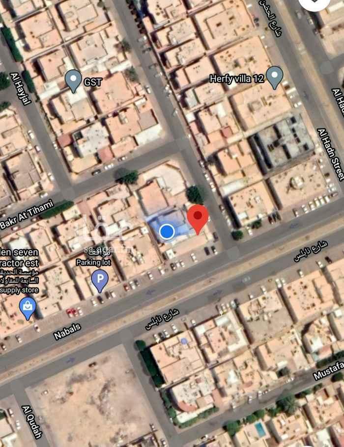 أرض للبيع في شارع نابلس ، حي المروج ، الرياض ، الرياض