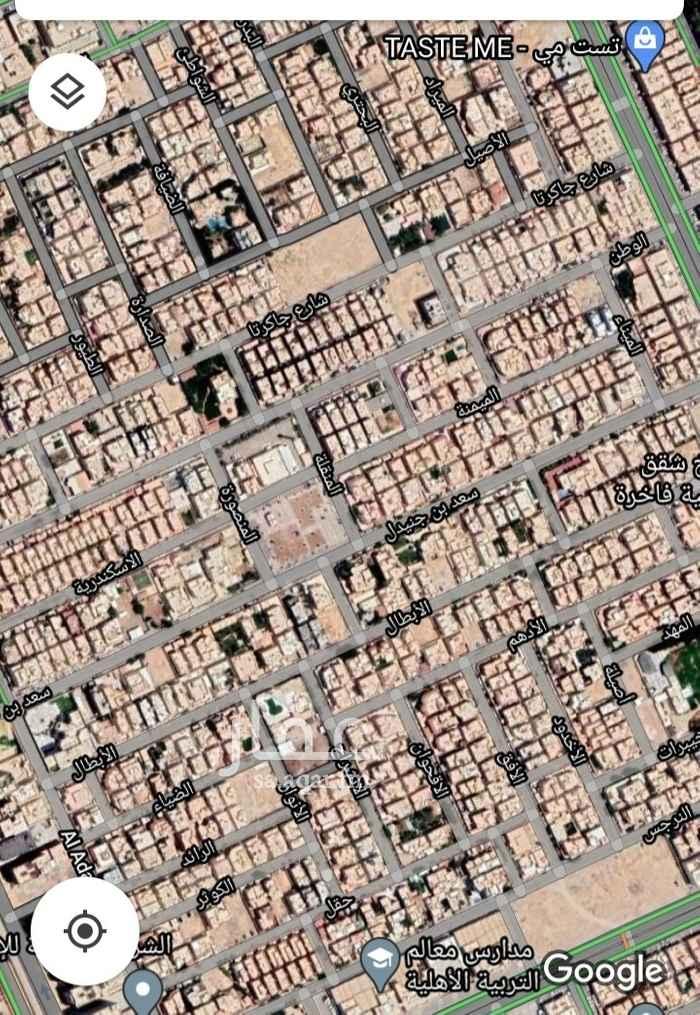 أرض للبيع في شارع الميمنة ، حي الصحافة ، الرياض ، الرياض