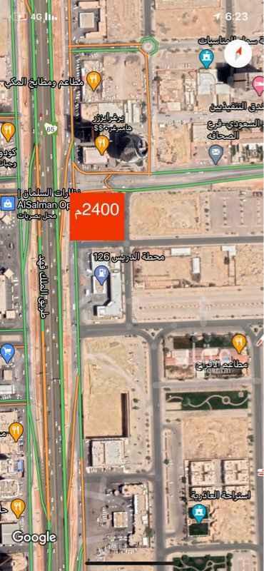 أرض للبيع في طريق الملك فهد الفرعي ، حي العقيق ، الرياض ، الرياض