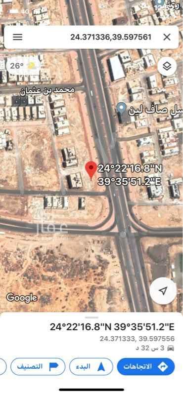 أرض للبيع في حي الجابرة ، المدينة المنورة ، المدينة المنورة