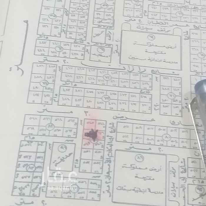 أرض للبيع في شارع دخنة ، حي الازدهار ، الرياض ، الرياض