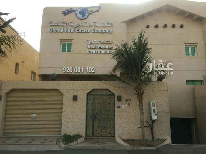 مكتب تجاري للإيجار في شارع خولة بنت الأزور ، حي الشاطئ ، جدة