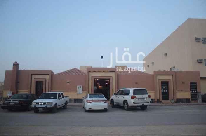 استراحة للإيجار في شارع خليفه العتيبي ، حي القيروان ، الرياض
