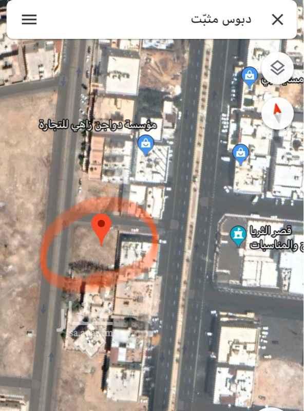 أرض للبيع في شارع تميم بن بعار ، حي المبعوث ، المدينة المنورة