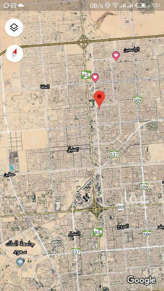 أرض للبيع في شارع رماح ، حي الصحافة ، الرياض ، الرياض
