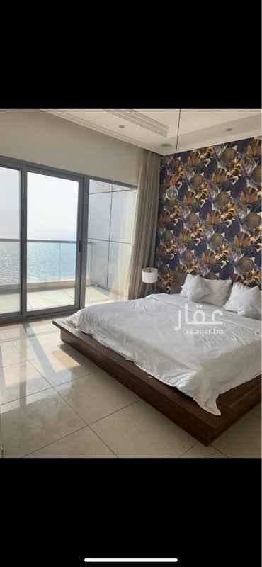 شقة للإيجار في شارع زيد بن الحسن ، حي الشاطئ ، جدة ، جدة