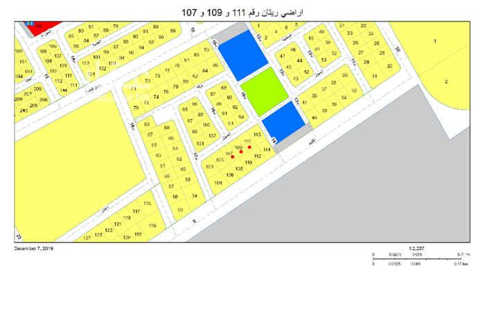 أرض للبيع في شارع 12 ا ، حي النور ، الدمام ، الدمام
