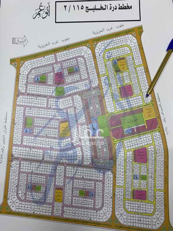 أرض للبيع في شارع الحسن الأموي ، حي اللؤلؤ ، الخبر ، الخبر