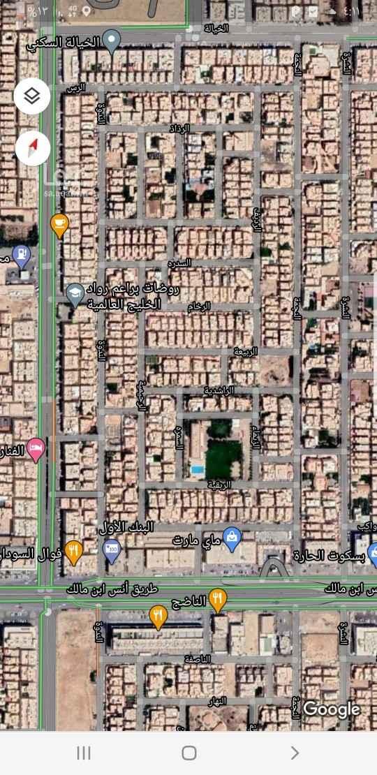 استراحة للبيع في طريق الملك عبد العزيز ، حي الياسمين ، الرياض ، الرياض