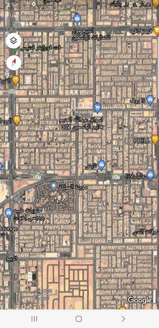 أرض للبيع في طريق أنس ابن مالك ، حي الصحافة ، الرياض ، الرياض