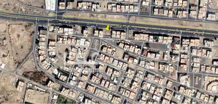 أرض للإيجار في شارع ابو بكر الصديق ، حي شباعة ، خميس مشيط ، خميس مشيط