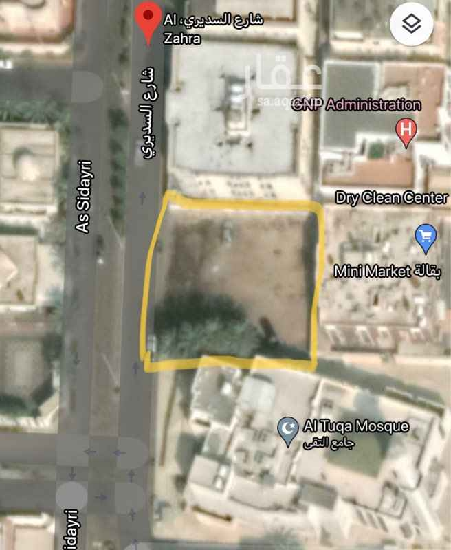 أرض للبيع في شارع السديري ، حي الزهراء ، جدة ، جدة