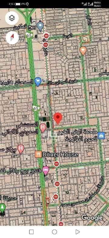 أرض للبيع في شارع وادي الجناح ، حي الصحافة ، الرياض ، الرياض