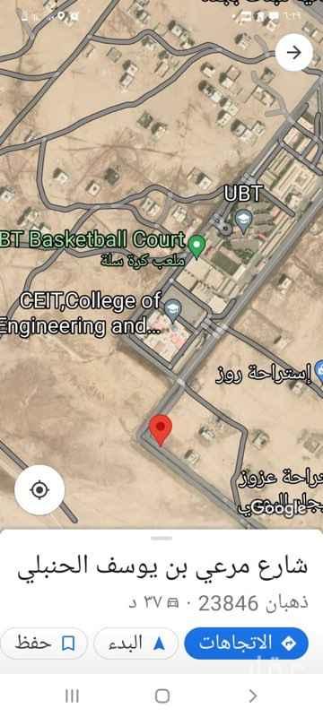 أرض للإيجار في شارع مرعي بن يوسف الحنبلي ، ذهبان ، جدة