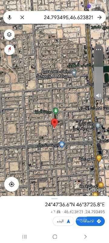 أرض للبيع في شارع الحشاية ، حي الملقا ، الرياض ، الرياض