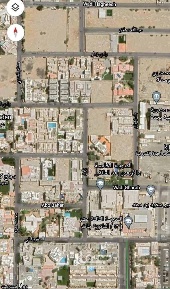 أرض للبيع في شارع هشام العدوي ، حي الروضة ، جدة ، جدة