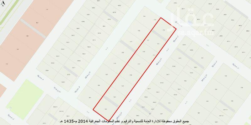 أرض للبيع في شارع الاعتدال ، حي بدر ، الرياض