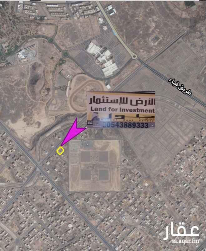 أرض للإيجار في شارع بشير بن ابي زيد, المدينة المنورة