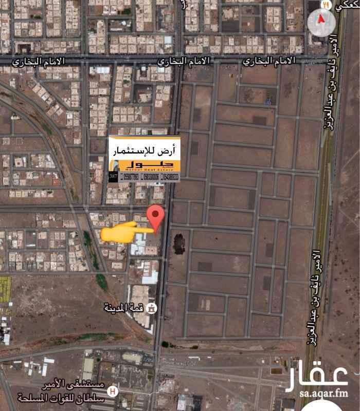 أرض للإيجار في شارع محمد بن سهل, المدينة المنورة