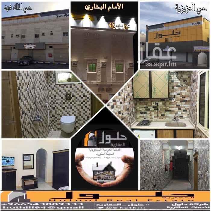غرفة للإيجار في شارع على بن مسعد الباهلي, الدفاع, المدينة المنورة