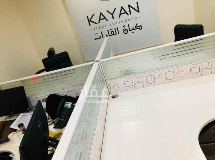 مكتب تجاري للإيجار في شارع عصمت بن مالك ، حي السلامة ، جدة ، جدة