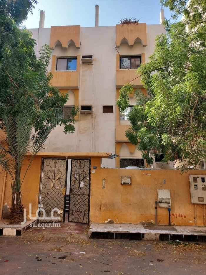 عمارة للإيجار في شارع ابو عبدالملك بن عبدالبر ، حي البوادي ، جدة ، جدة